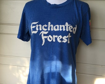 Vintage Enchanted Forest t-shirt