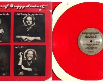 Red Vinyl from, Buzzy Linhart, Four Sides Of Buzzy Linhart 1982, Vinyl Record