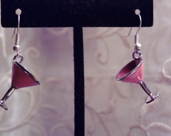 Martini Glass Earrings