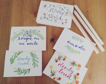 Dearly Loved Greeting Cards