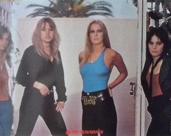 Joan Jett 22x34 The Runaways Poster 1978 Lita Ford