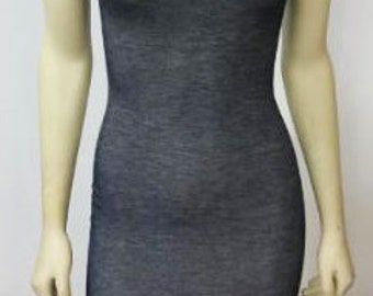 Denim Scoop Dress