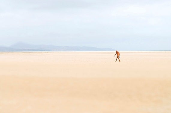 Solitude,beach,summer,landscape,travel,limited edition print,fine art,