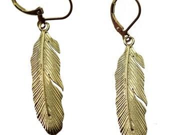 Big Feather Earrings