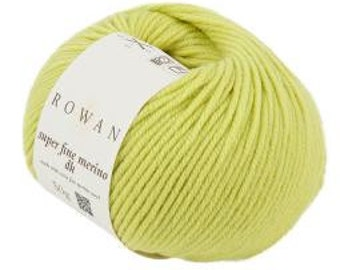 Rowan Super Fine Merino DK 100% wool yarn 50g in Pebble, Shade No 162