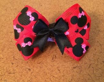 Small Minnie barrette