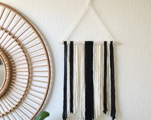 Small Black & White Wall Hanging