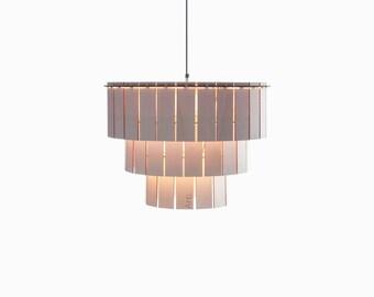 Taglight wooden chandelier