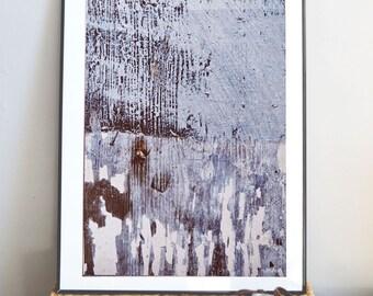 Art print, abstract blue print, modern wall art, blue pattern art, large art, wall art print, A4, A2, A3, modern home decor, wall poster