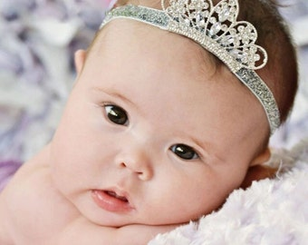Beautiful Baby Toddler Crystal Tiara