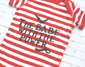 The Babe With The Power, Labyrinth Movie Bodysuit for Babies