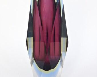 Sommerso Murano Glass by Flavio Poli -