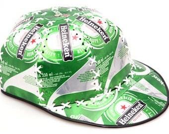 Recycled Tin Can Cap (Pepsi, Coca Cola, Diet Coke, Schweppes, Heineken, Tiger Beer) Soda can / Pop can