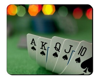 Mouse Mat - Poker - Card Games Mouse Pad GG101