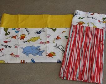 Dr. Seuss pillowcases