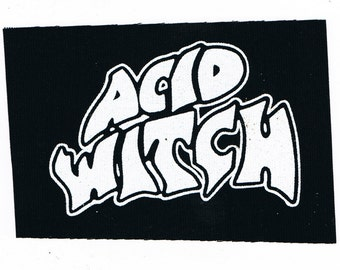 Acid Witch Band Patch