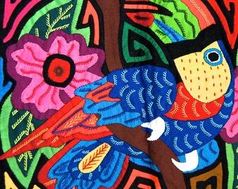 Panamanian Kuna Yala Mola Art