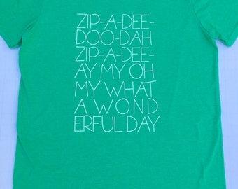 Zip-a-dee-doo-dah (Green) - Adult