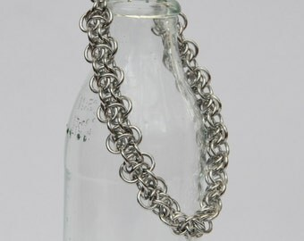 Elfin Weave Chain Maille Bracelet // Chain Maille Jewellery