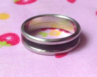 Ring Vintage Charles Jourdan size 62 steel