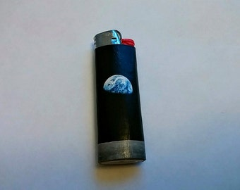 Custom Earth-rise from Moon Space Lighter