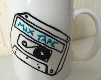 Life is a mix tape mug