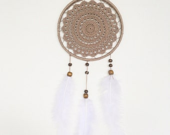 Dream catcher fabric crochet