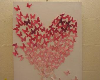 Butterflies falling out of love