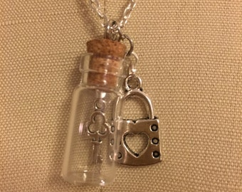 Kept Under Lock and Key Necklace