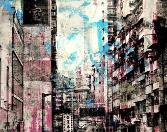 HONG KONG Focus IX by Sven Pfrommer - Artwork is ready to hang