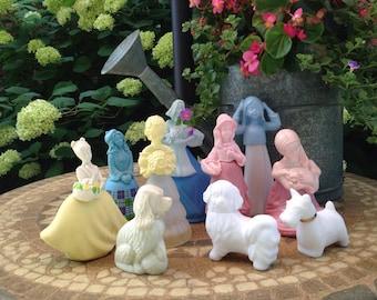 Vintage Avon Figurines (1970's) (LOT of 8)