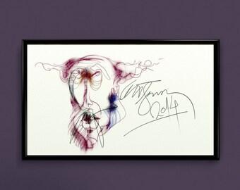 "Digital art drawing - ""Unusual"""