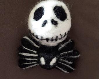 Jack-o-bauble - Jack Skeleton bauble. Nightmare Before Christmas. Decoration.