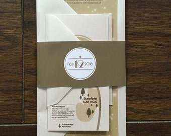 Bespoke Invitation - Luxury Package