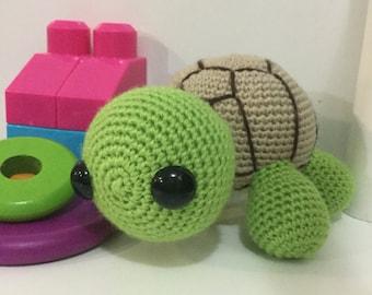 Terrance | Crochet Turtle |  Amigurumi Toy