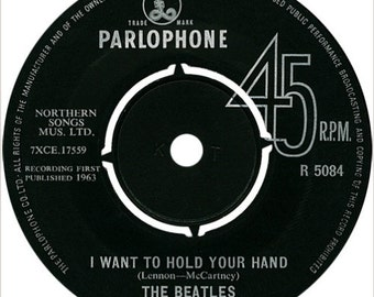 The Beatles-I Want To Hold Your Hand -Parlophone Records