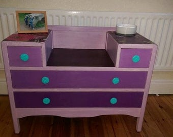 Funky shabby chic dressing table