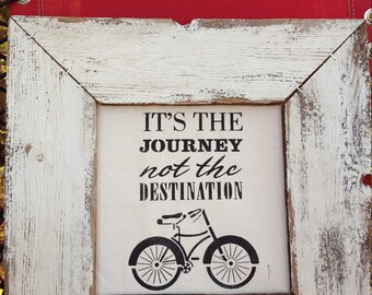 It's the journey, not the destination