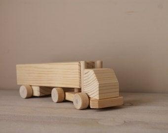 Wooden Trailer Truck