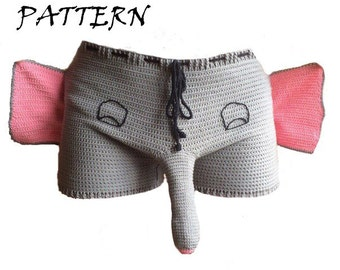 Crochet elephant Etsy