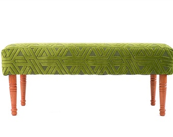 Upholstered Bench Ottoman