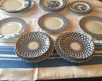 Lononosov Russian Colalt bone china