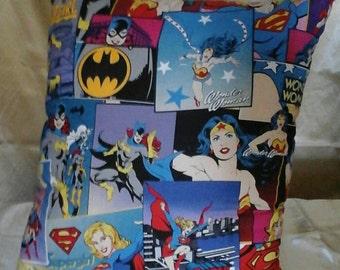Original Comforts Girl power character pillows.