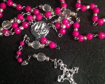 Handmade beaded rosary