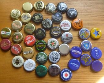 beer bottle tops, 75, assorted
