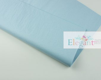 Tissue paper l Light Blue Tissue paper l Gift Wraping l DIY