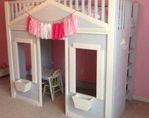 Play House Loft Bed