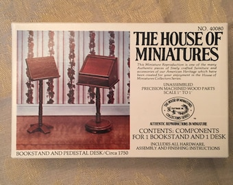 House of Miniatures Kit for Two Pieces in Unused Perfect Condition