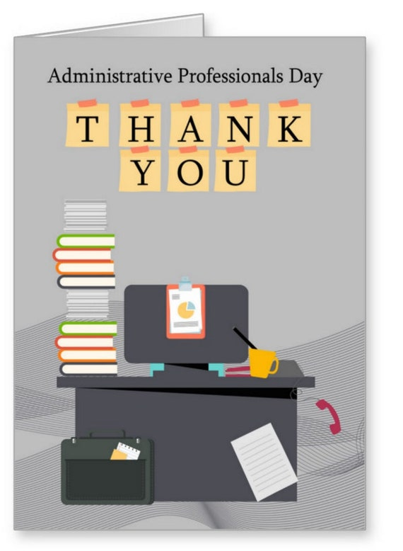 Thank You Quotes For Administrative Professionals Day: Administrative Professionals Day Thank You Greeting Card