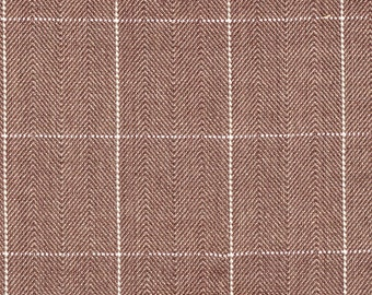 Copley Square Mink Brown Fabric By-the-Yard